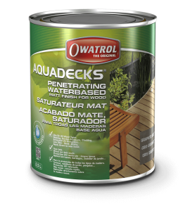 Aquadecks 2.5L Wood Stain