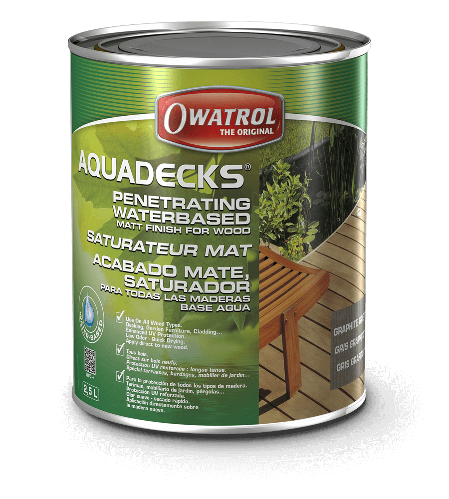 Water Based Wood Stain | Aquadecks | Owatrol USA