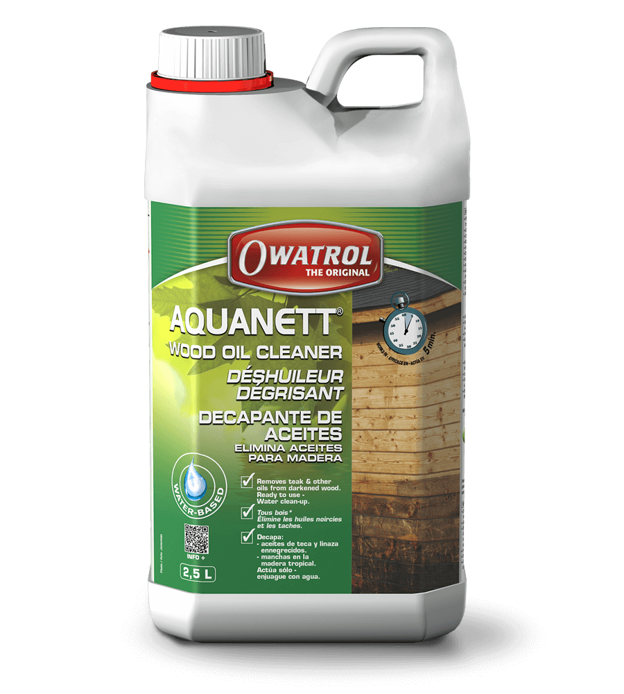 Aquanett 2.5L wood oil cleaner