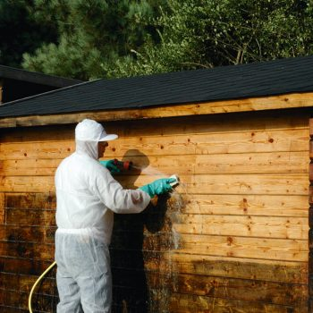 Chalet being cleaned by Aquanett