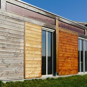 Net-Trol applied to wood cladding - ©Adfields
