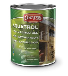 Aquatrol 2.5L saturating wood oil
