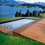 D1 Pro used on Pool decking with a view