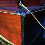 Deks Olje D2 on boat hull