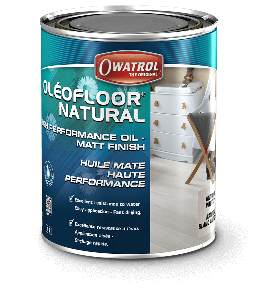 Oleofloor Natural 1L Natural matt finish wood oil