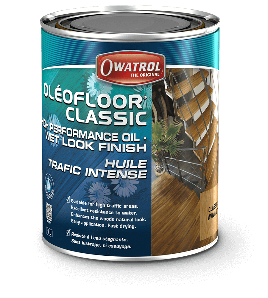 Oleofloor Classic 1L Wood Floor Oil