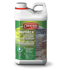 Prepdeck 2.5L Wooden deck stripper & cleaner