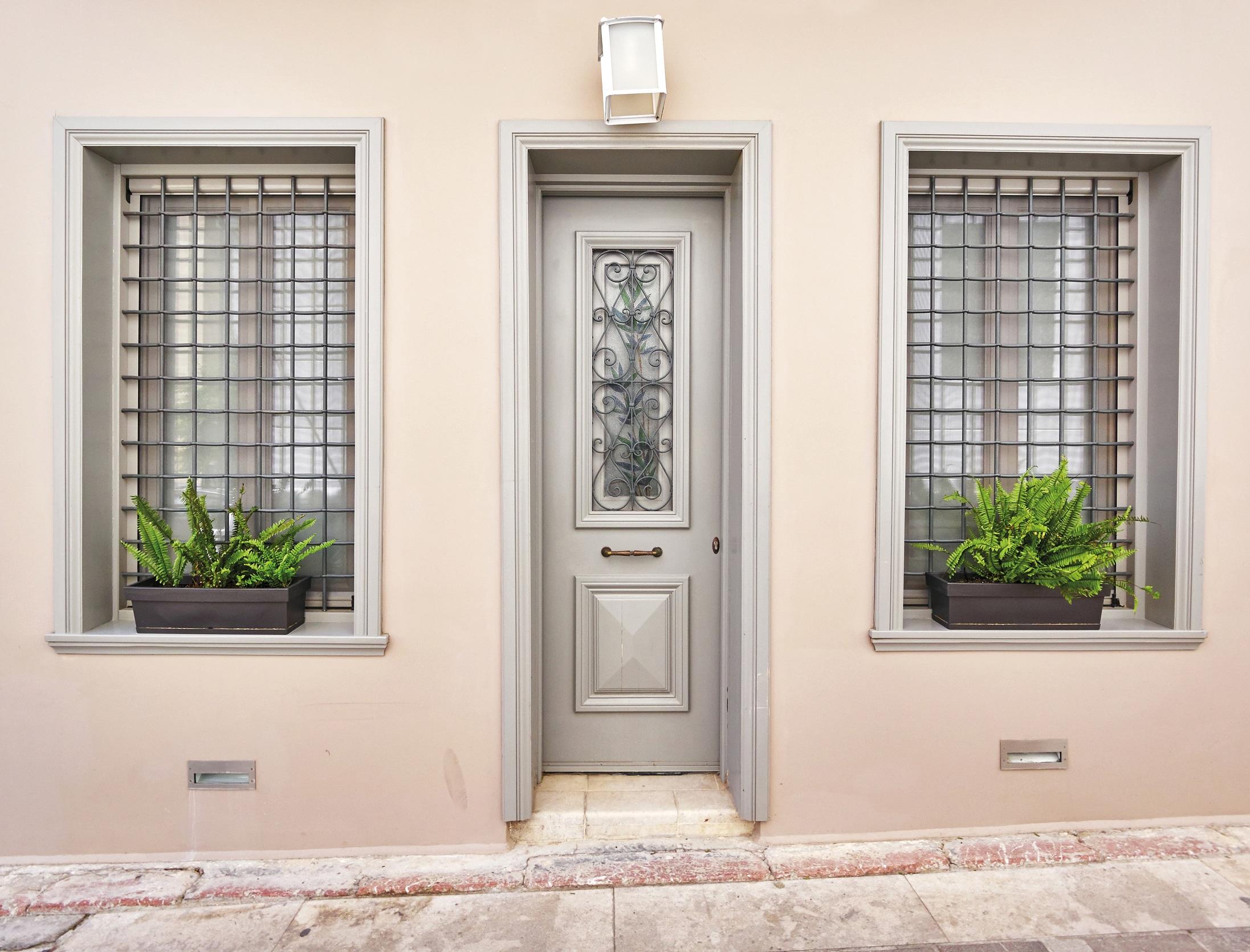 SCS applied to a front door - ©Adfields
