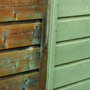 SCS applied to a garden fence