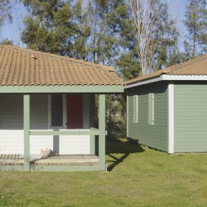 SCS applied to bungalow cladding