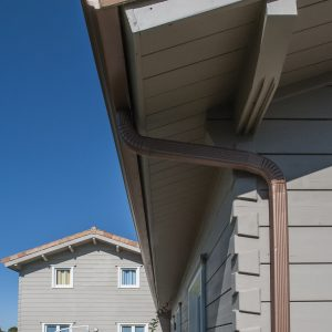 SCS applied to cladding on a house - ©Adfields