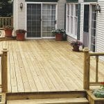 New deck finished with Seasonite