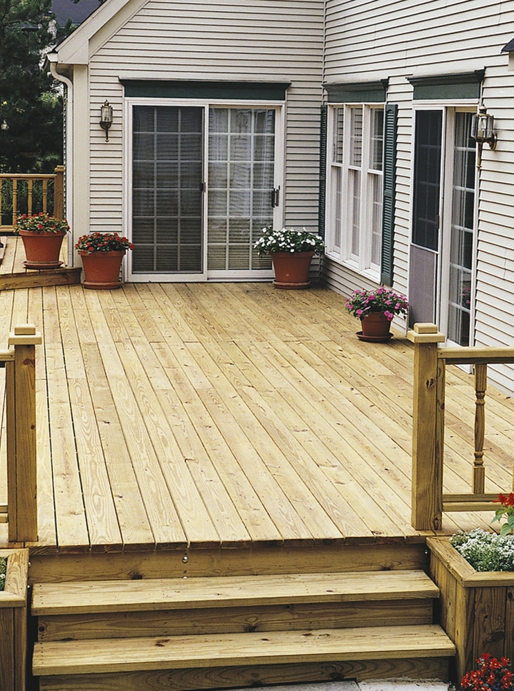 Seasonite new decking
