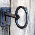 Transyl used on release key lock - ©Adfields
