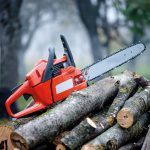 Transyl used on release chain saw - ©Adfields