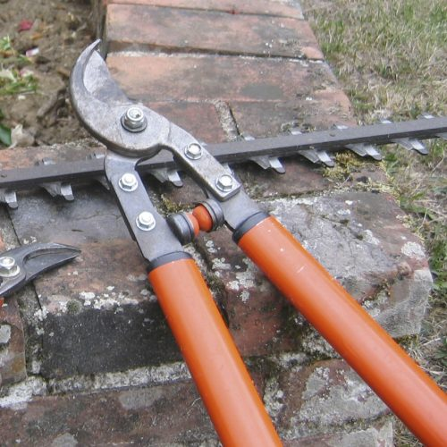 Transyl used on garden shears