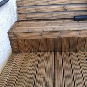 Deck after Prepdeck and Net-Trol have been used