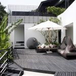 Dark Gray decking