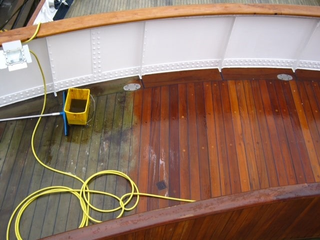 prepdeck strips a boat deck