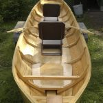 Wooden boat finished with Deks Olje D1 and D2 - copyright Jukka Kylmala