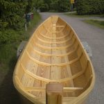 Wooden fishing boat finished with Deks Olje D1 and D2 - copyright Jukka Kylmala