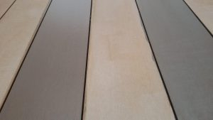 Composite decking with and without Compo-Care