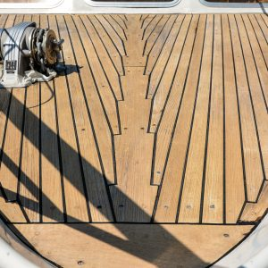 After cleaning with Deck Cleaner - ©Adfields