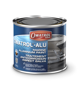 Owatrol ALU high gloss marine aluminium paint finish