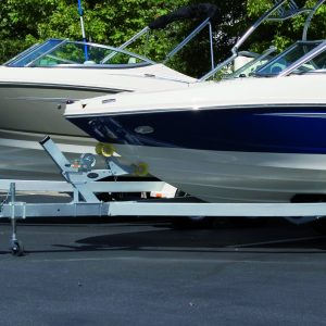 Two Boats on Trailers finished with RA85