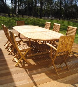 renovating treated garden furniture