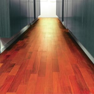 Ultimafloor applied to wooden flooring