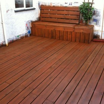 Deck after Textrol has been applied