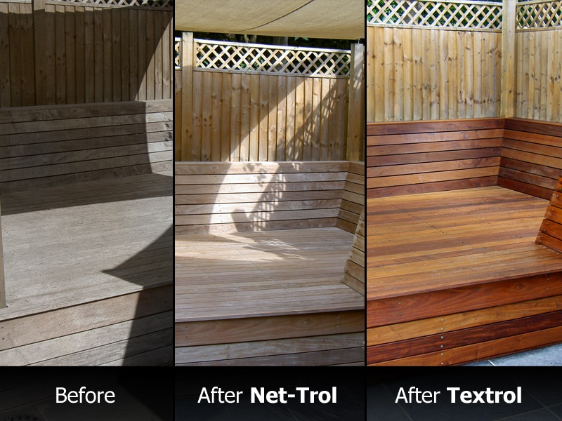 Net-trol used on decking