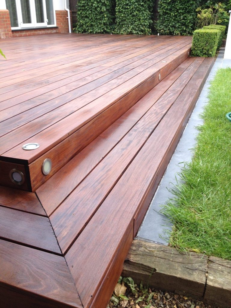 Deck after application of D1 Pro