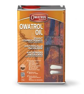 Owatrol Oil packaging