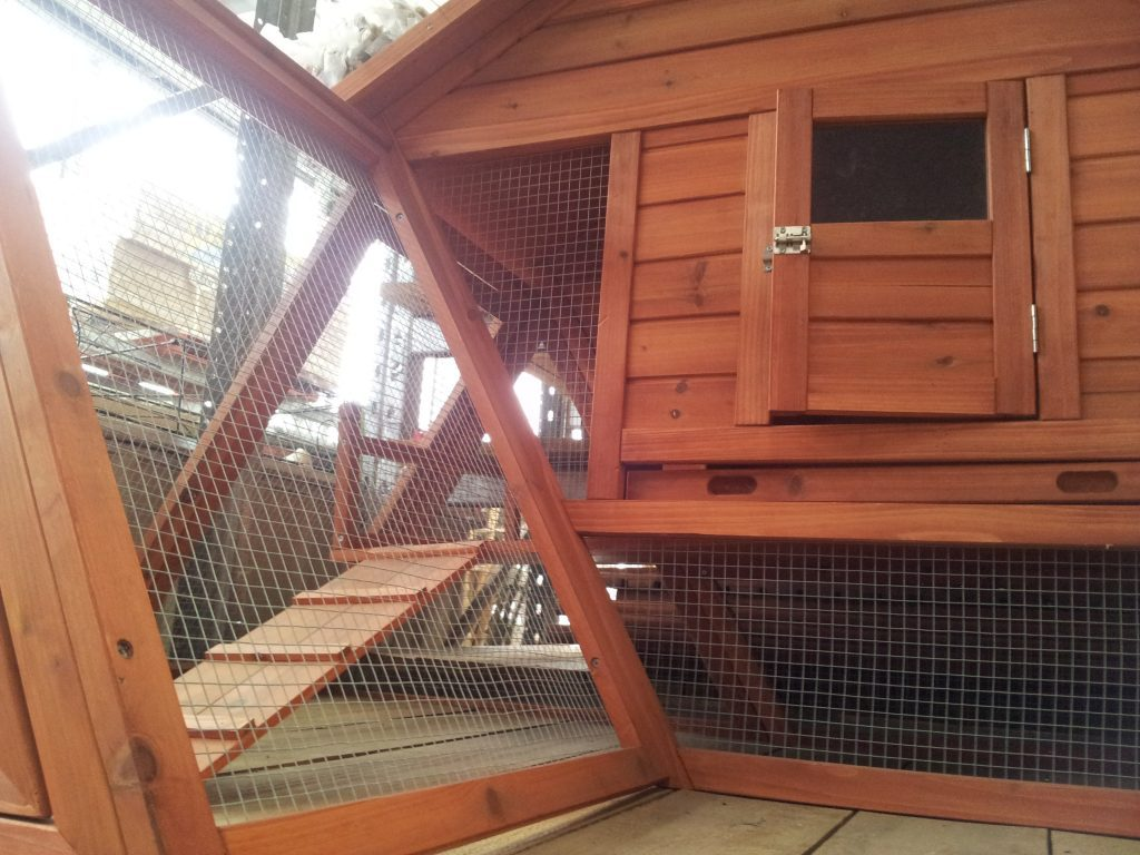 Large rabbit hutch ideas