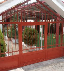 CIP and Owatrol Oil used to protect metal gates