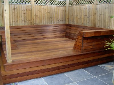 Textrol used on decking