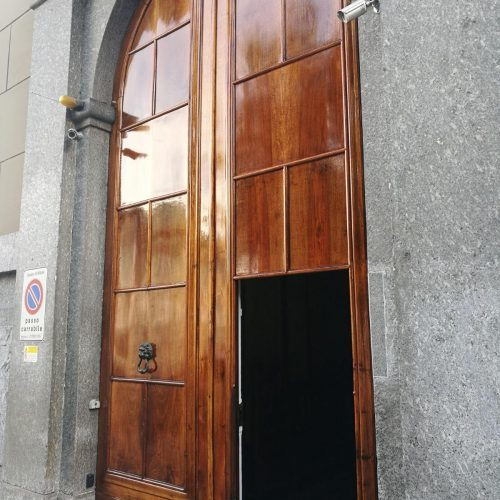 Italian doors finished with Owatrol D1 and D2