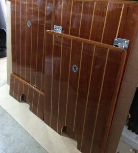 Teak pannels finished with Deks Olje D2