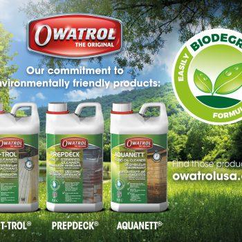Environmentally Friendly Wood Care Range From Owatrol