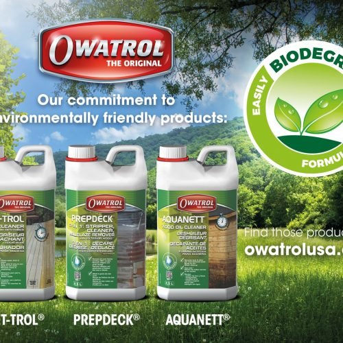 Environmentally Friendly Wood Care Range From Owatrol