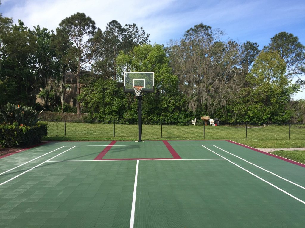 Sports court revived with Polytrol