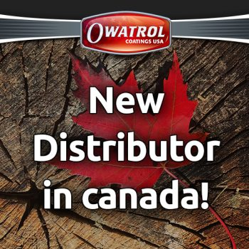 New distributor in Canada