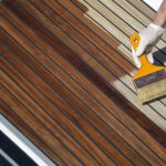 boat deck finished with Deks Olje D1 - ©Adfields