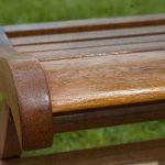 Deks Olje D1 being applied to a garden chair - ©Adfields