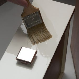 ESP being applied to a melamine surface - ©Adfields