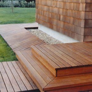 Textrol on wood deck