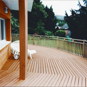 Textrol applied to a terrace