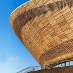Textrol applied to the London 2012 Olympics velodrome - ©Hopkins Archiitects